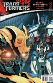 Transformers Movie Prequel Special Cover A IDW comic book